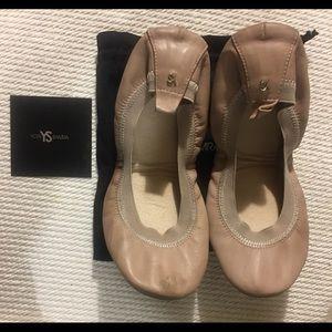 YOSI SAMRA YS ballet flats leather pink